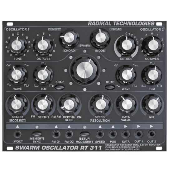 Radikaltechnpologiesswarmoscillator 555x555 Sintetizzatori e Drum Machine, Moduli Eurorack, Oscillatori
