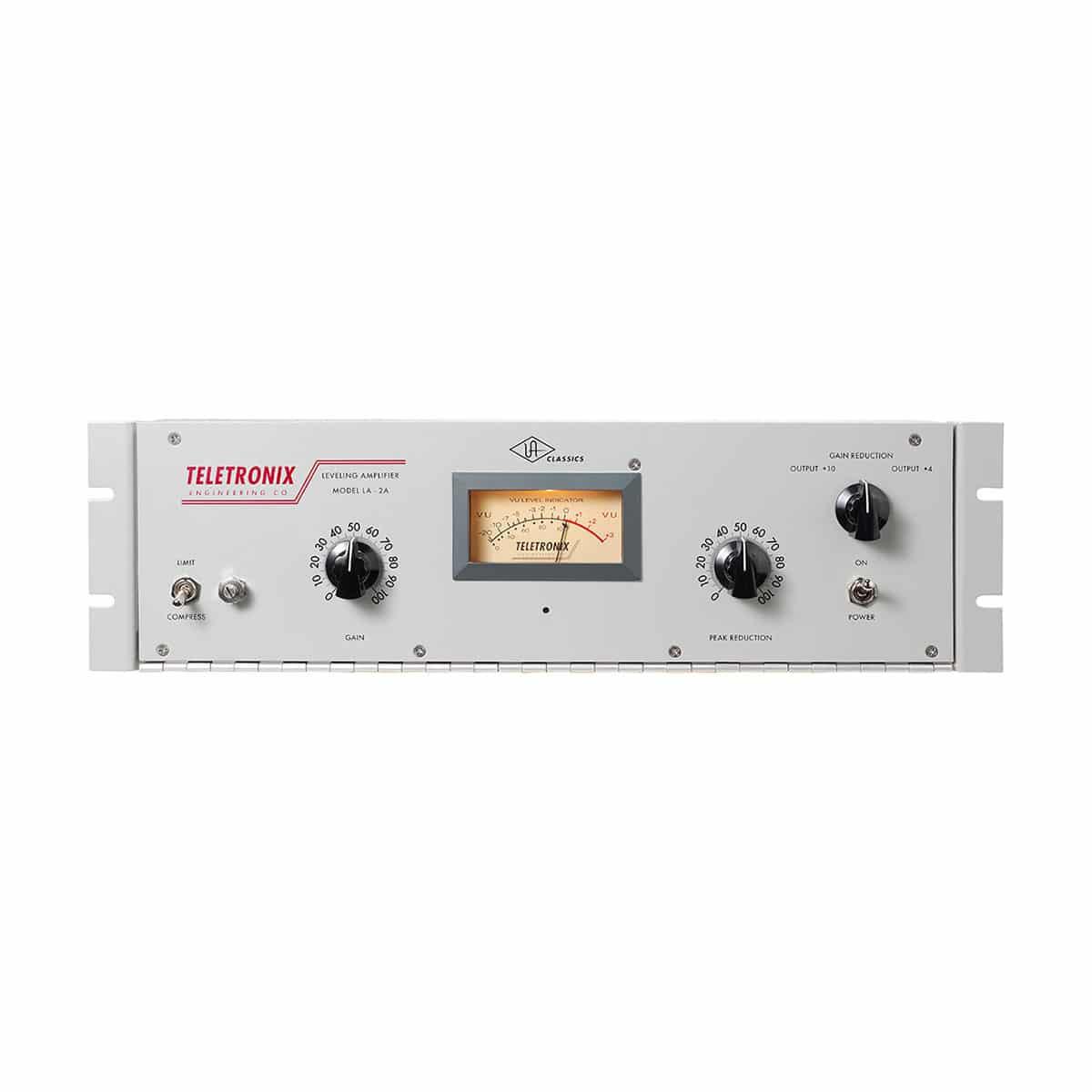 Teletronix Universal Audio LA2A 01 Strumentazioni Pro Audio per studi di registrazione, Outboard professionale analogico, Compressori analogici per il tuo studio di registrazione