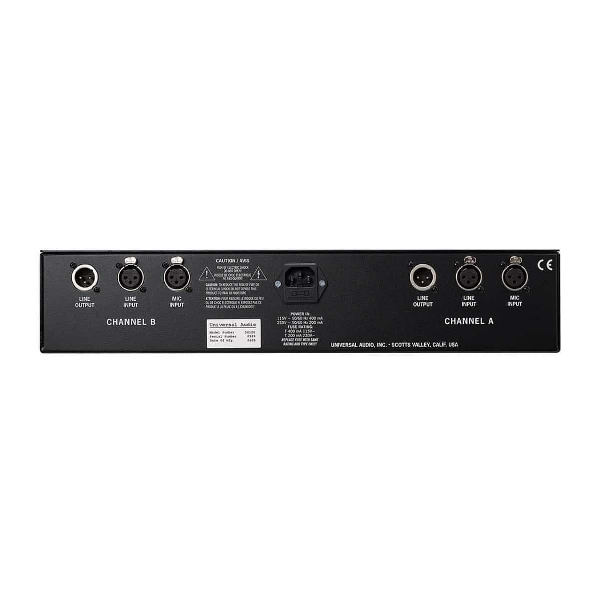 Universal Audio 2 610 02 Universal Audio 2 610