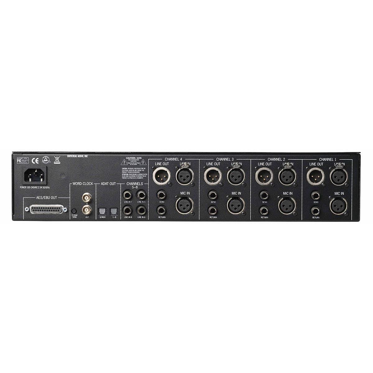 Universal Audio 4 710D 02 Convertitori Audio, Pro Audio, Outboard, Preamplificatori Microfonici, Compressori, Audio Digitale