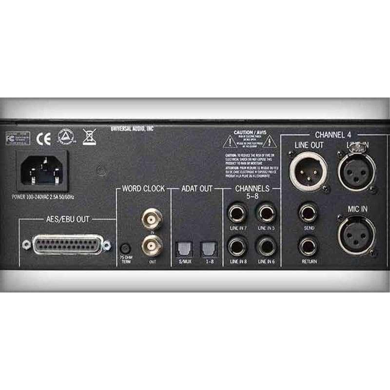 Universal Audio 4 710D 04 Convertitori Audio, Pro Audio, Outboard, Preamplificatori Microfonici, Compressori, Audio Digitale