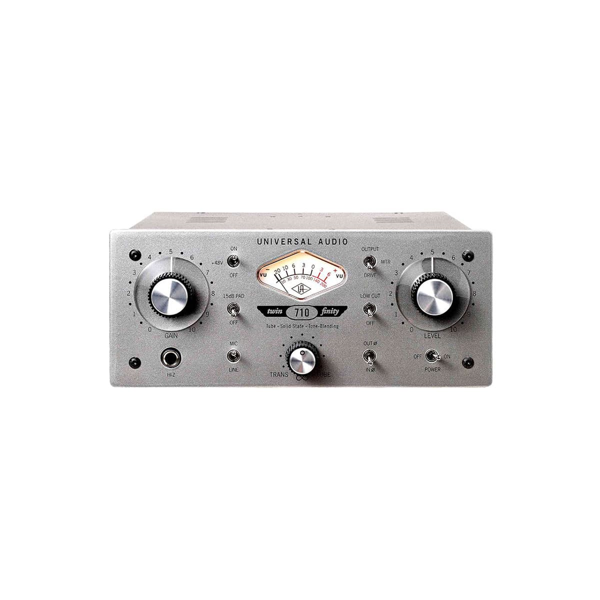 Universal Audio 710 twinfinity 01 Pro Audio, Outboard, Preamplificatori Microfonici, D.I./Reamp