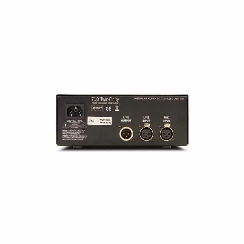 Universal Audio 710 twinfinity 02 Pro Audio, Outboard, Preamplificatori Microfonici, D.I./Reamp