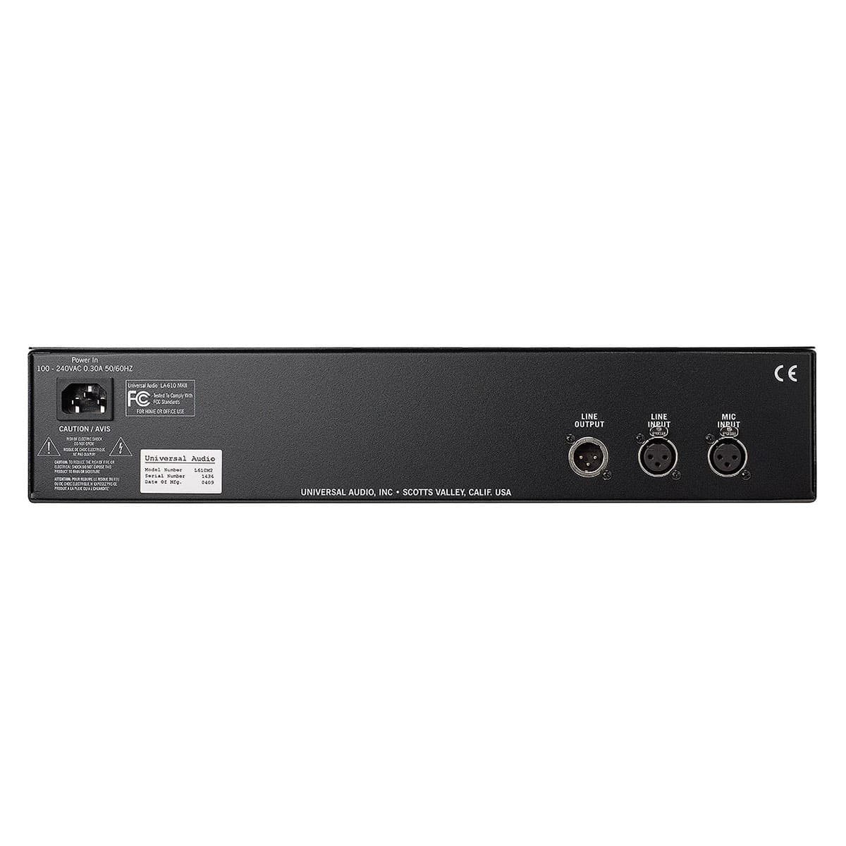 Universal Audio LA 610 mkii channel strip 02 Pro Audio, Outboard, Preamplificatori Microfonici, Channel Strip
