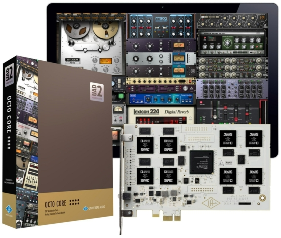 Universal Audio UAD 2 OcTO Core 555x470 Recording, Audio Digitale Convertitori e Schede Audio, Schede DSP e acceleratori