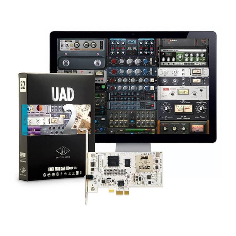 Universal Audio UAD 2 QUAD CORE1 Pro Audio, Audio Digitale Convertitori e Schede Audio, Schede DSP e acceleratori