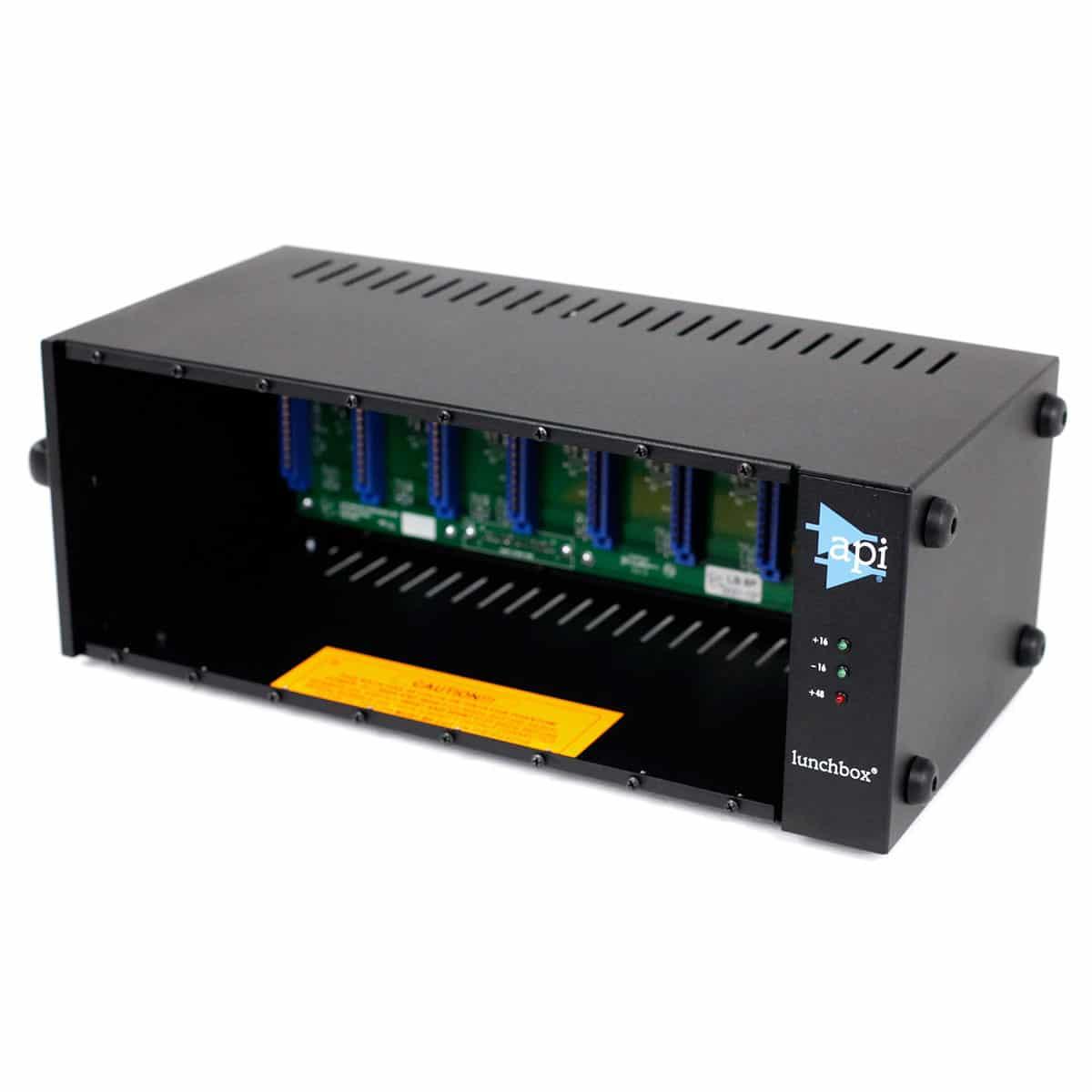 API 500 8B Accessories, Lunchbox, Pro Audio api 500 8b angle