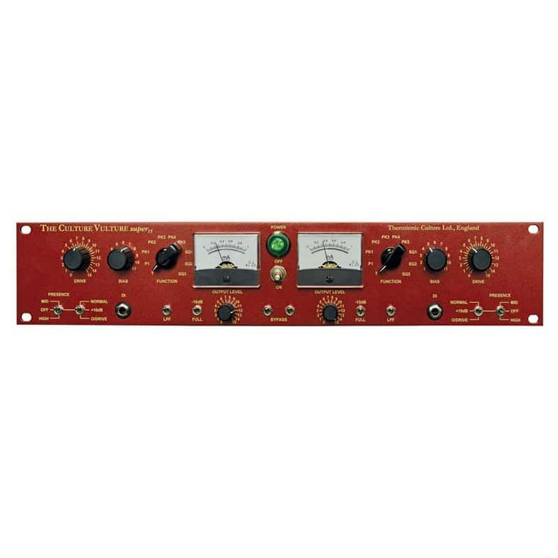 CVsuper15Front293 Effetti audio professionali, Strumentazioni Pro Audio per studi di registrazione, Outboard professionale analogico