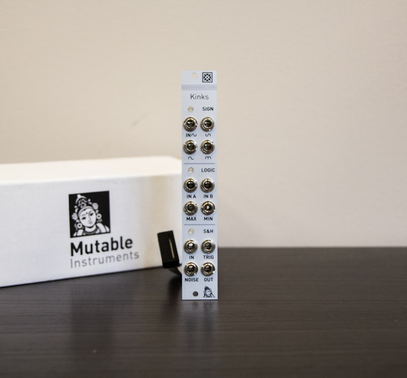 Roma Modulare 2017 1 Synthesizers and Drum Machines, Used, Eurorack Modules, Eurorack Utility