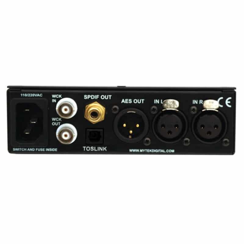 Stereo96ADC back Mytek STEREO96 ADC