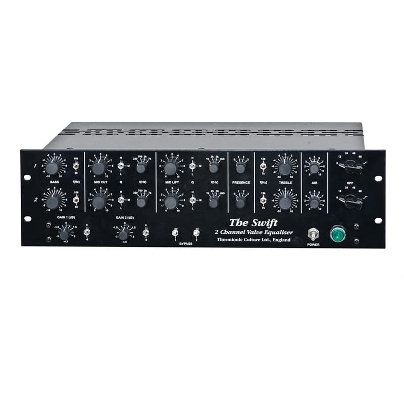 Swift Front copy 1 Strumentazioni Pro Audio per studi di registrazione, Outboard professionale analogico, Equalizzatori audio professionale