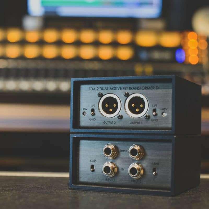 TELEFUNKEN 73 Strumentazioni Pro Audio per studi di registrazione, Outboard professionale analogico, D.I. Direct Interface Box e Reamp Box