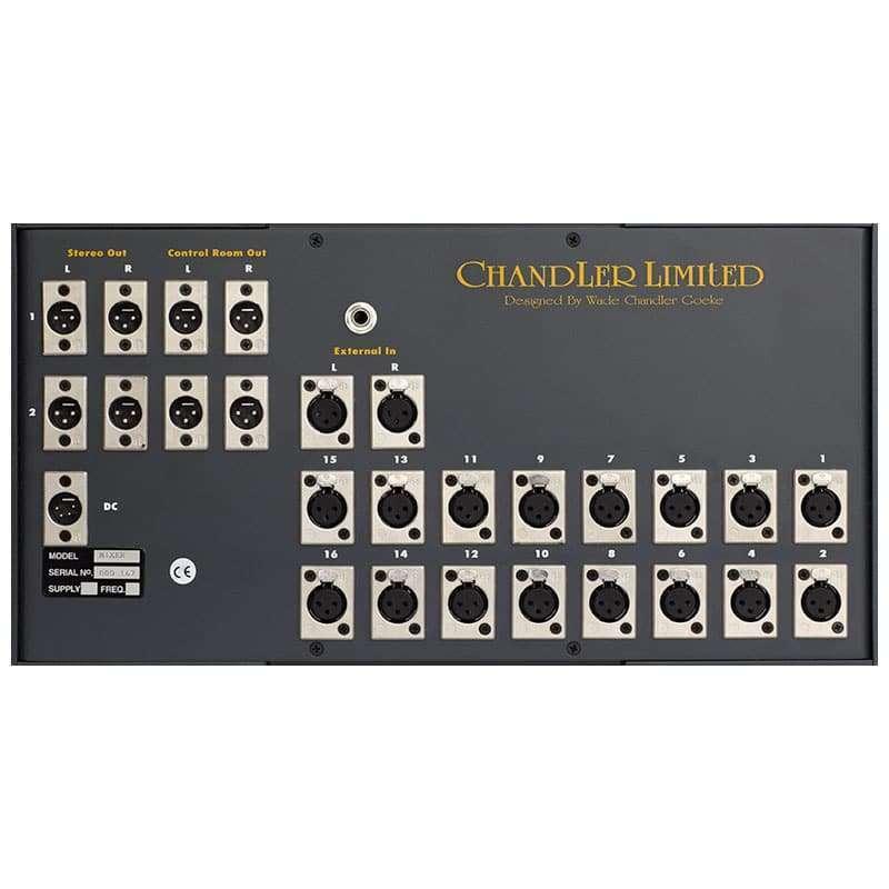 chandler mini rack mixer 02 Chandler Limited Mini Rack Mixer 16 channels Summing Mixer