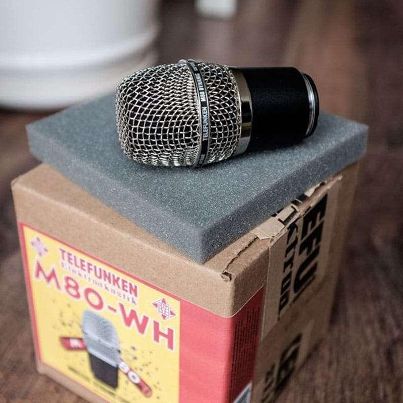 m80 wh 2 Microfoni, Microfoni Dinamici, Pro Audio