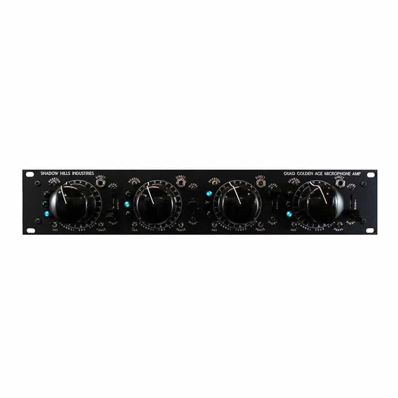 shadow hills quad gama front Pro Audio, Outboard, Preamplificatori Microfonici