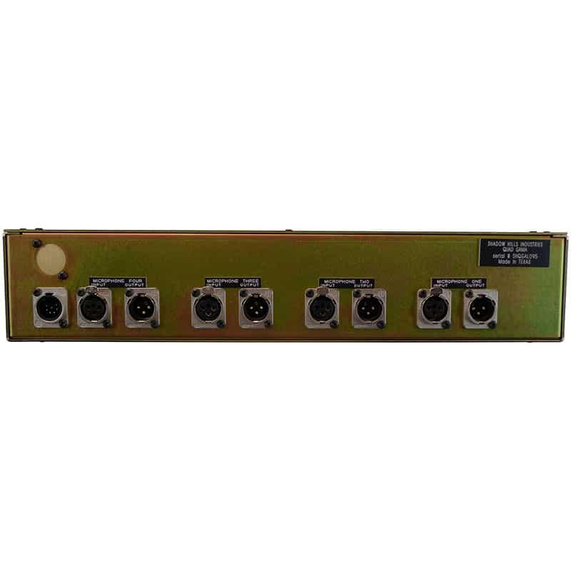 shadow hills quad gama rear Pro Audio, Outboard, Preamplificatori Microfonici