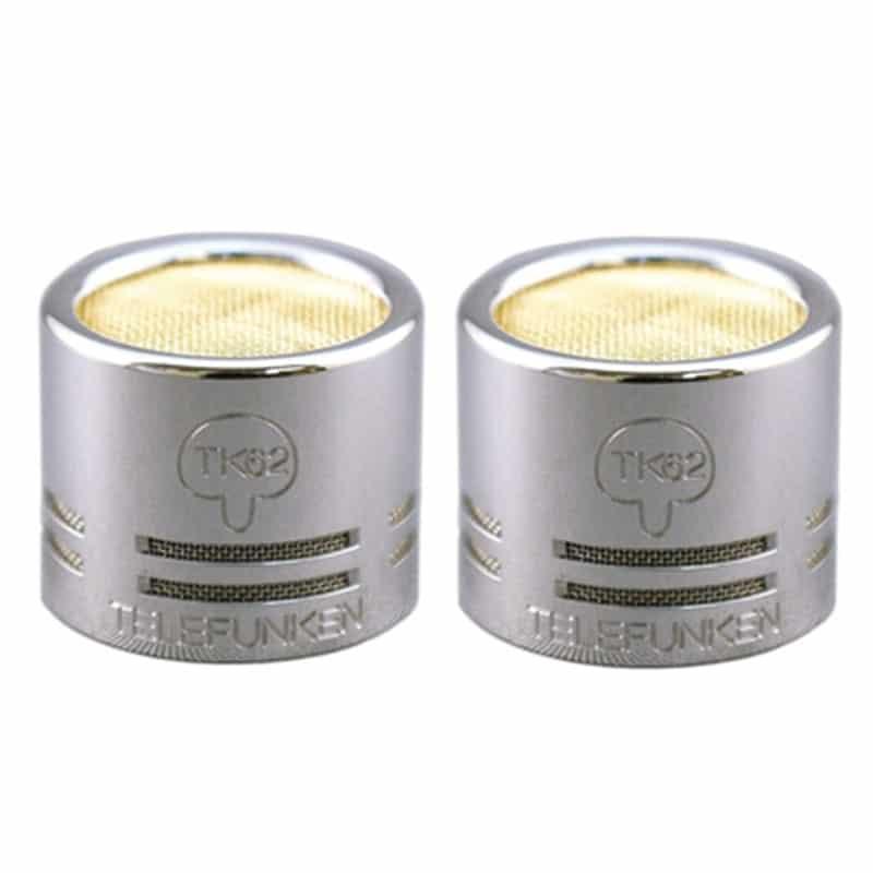 tk62 capsule stereo pair Telefunken TK62 S Matched Pair