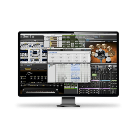 AVID Pro Tools 555x555 Strumentazioni Pro Audio per studi di registrazione, Software audio, DAW Digital Audio Workstation