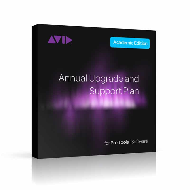 AVID Annual Upgrade and Support Plan Renewal for Pro Tools Student / Teacher (Card) Pro Audio, Software, DAW AVID Pro Tools Institutional