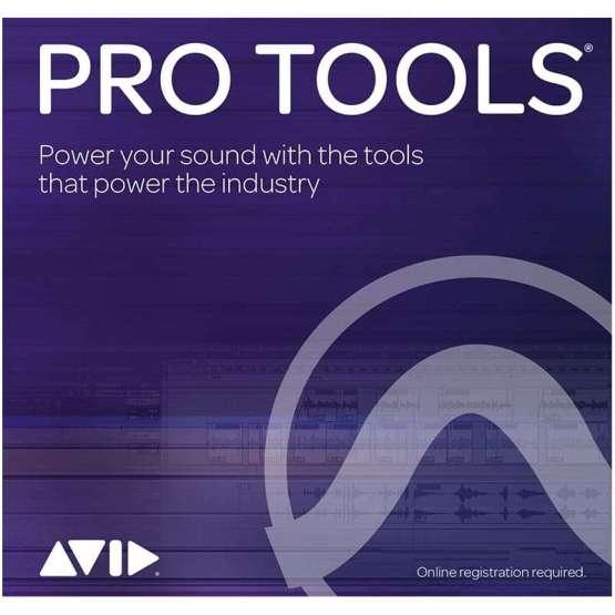 AVID Pro Tools Annual Subscription Card 555x555 Pro Audio, Software, DAW