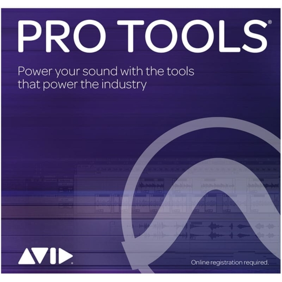 AVID Pro Tools Annual Subscription Institutional Card 555x555 Pro Audio, Software, DAW