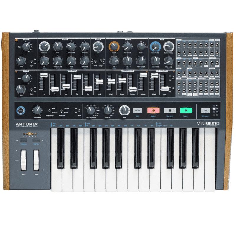 ArturiaMinibrute2 Sintetizzatori e Drum Machine, Sintetizzatori e Tastiere, Synth a tastiera
