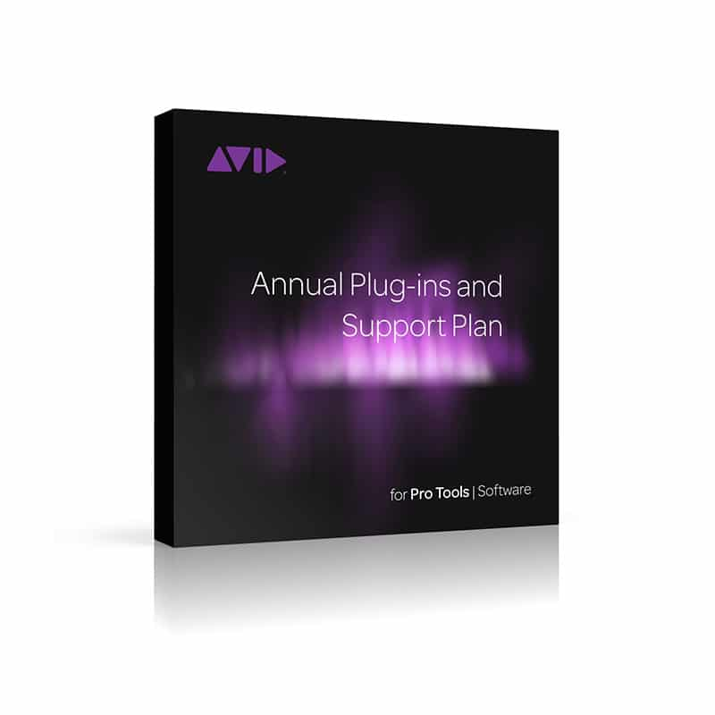 Avid Audio Plug in Activation Card Tier 2 1 AVID Annual Plugins and Support Plan for Pro Tools Renewal (Card)
