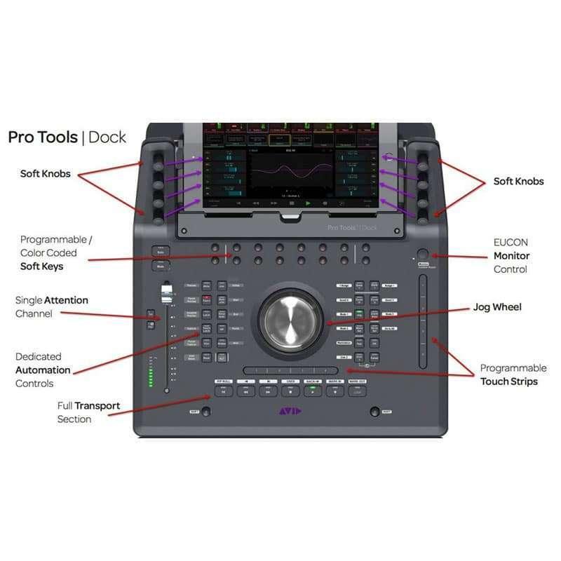 Avid protools Dock 3 Pro Audio, Accessori, Remote Controller