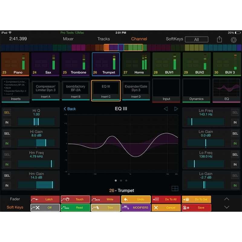 Avid protools Dock 5 Pro Audio, Accessori, Remote Controller