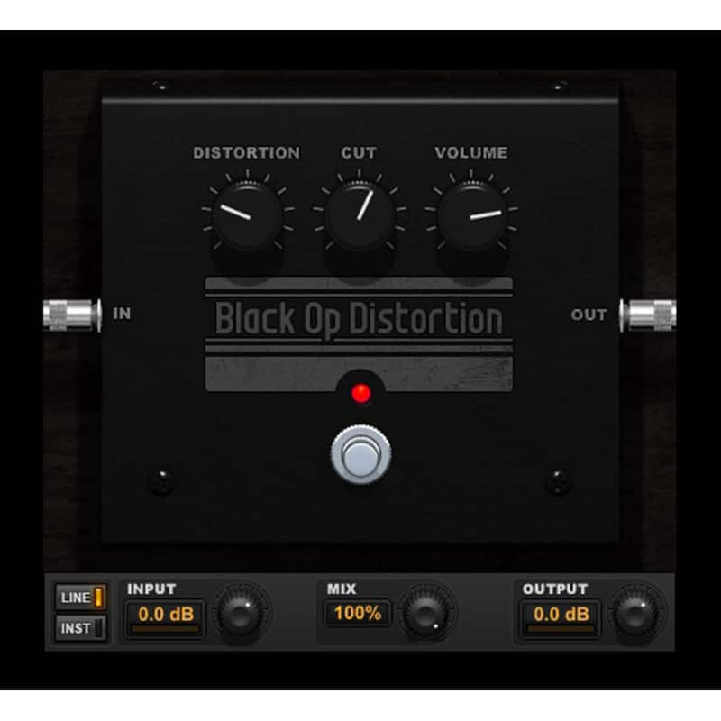 BLACK OP DISTORTION AVID Annual Plugins and Support Plan for Pro Tools Renewal (Card)