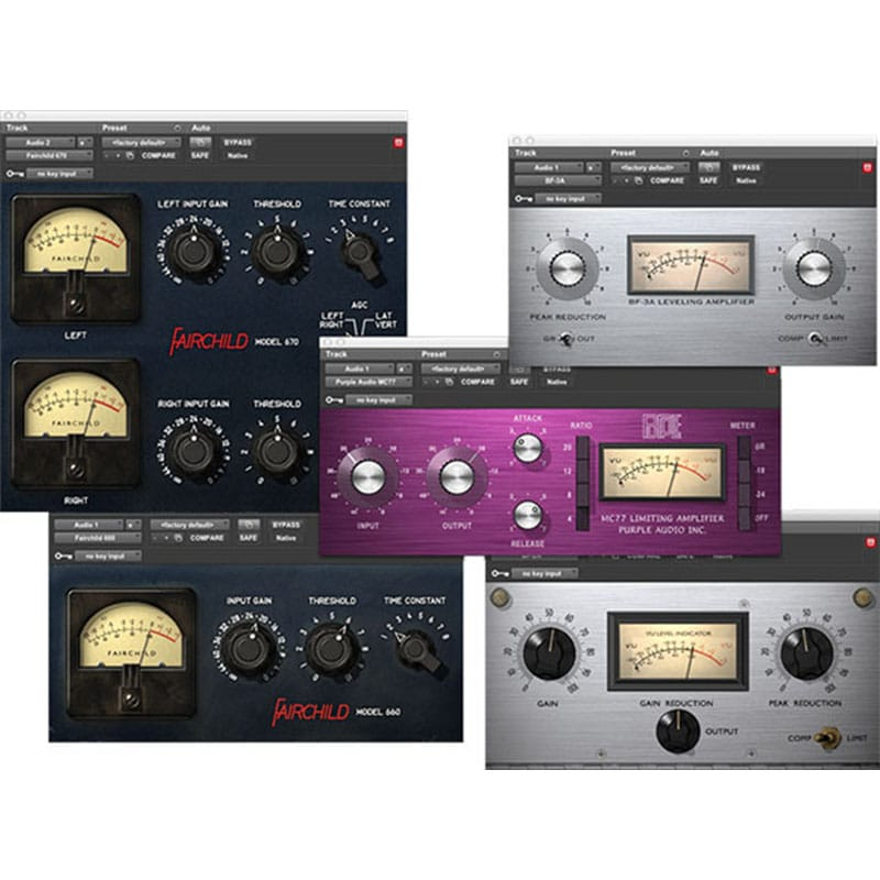 Classic Compressors Bundle InsetPlugin AVID Audio Plug in Activation Card Tier 2