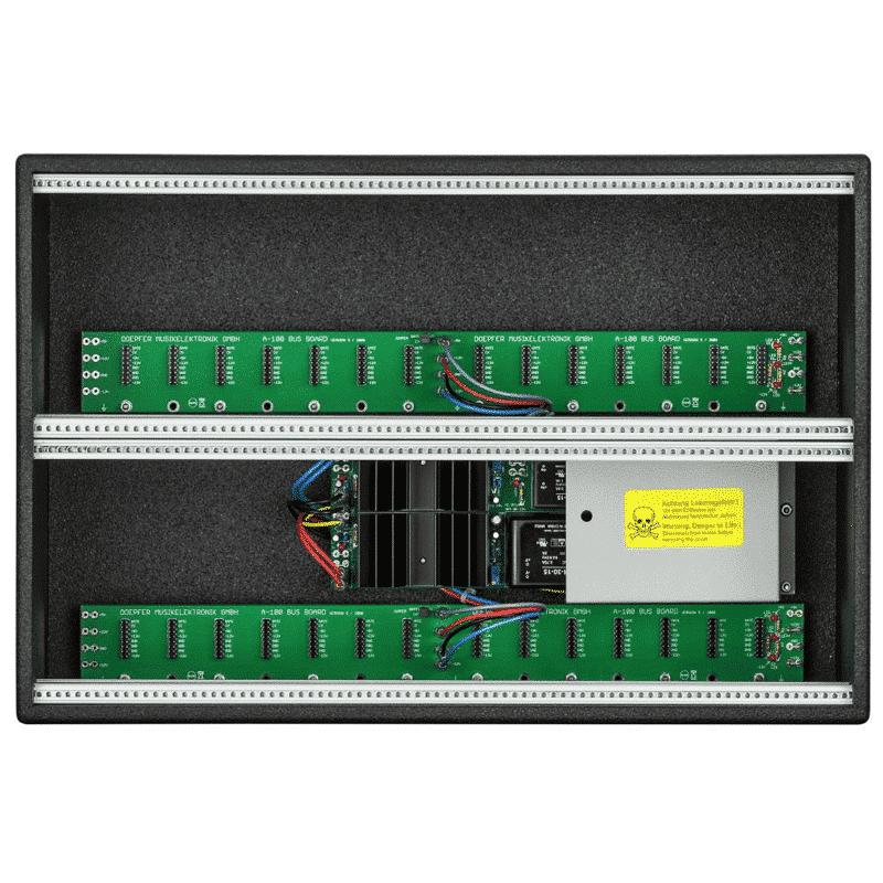 DoepferA 100LC6Vintage Sintetizzatori e Drum Machine, Case Eurorack
