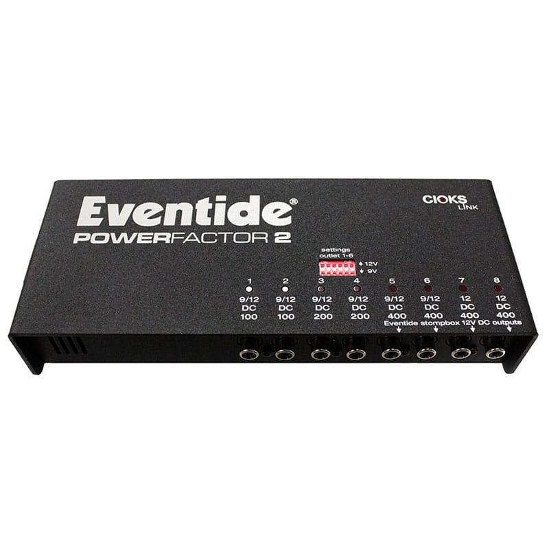 Eventide PowerFactor 2 01 Pedali Stompbox