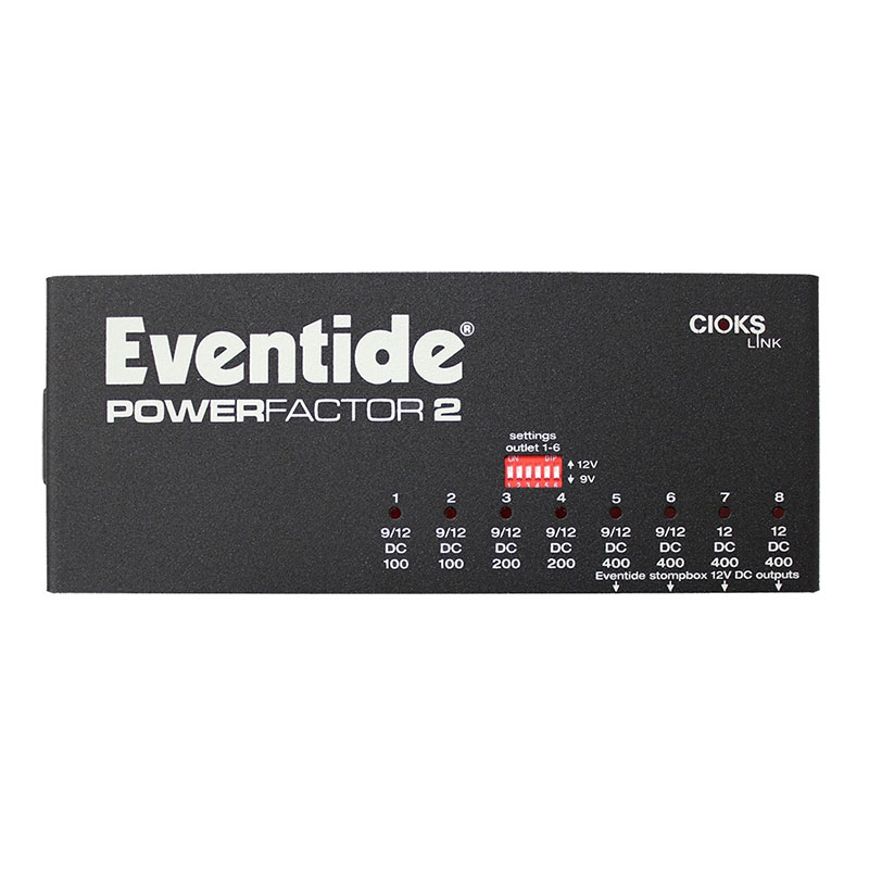 Eventide PowerFactor 2 02 Pedali Stompbox