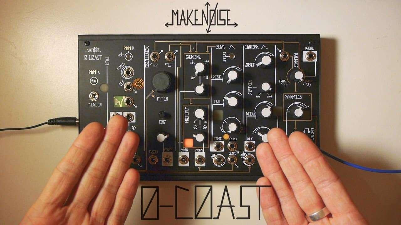 Make Noise 0-COAST Semi-Modular Synth Demo