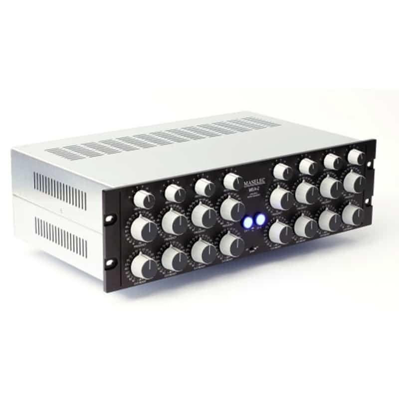 Maselec MEA 2 1 Equalizzatori audio professionale, Outboard professionale analogico, Strumentazioni Pro Audio per studi di registrazione