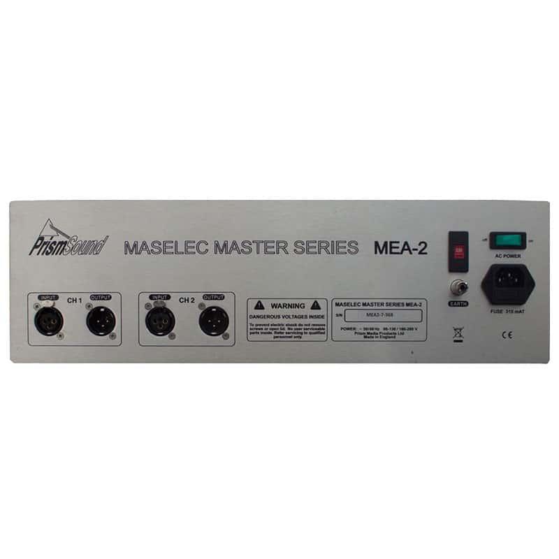 Maselec MEA 2 2 Equalizzatori audio professionale, Outboard professionale analogico, Strumentazioni Pro Audio per studi di registrazione