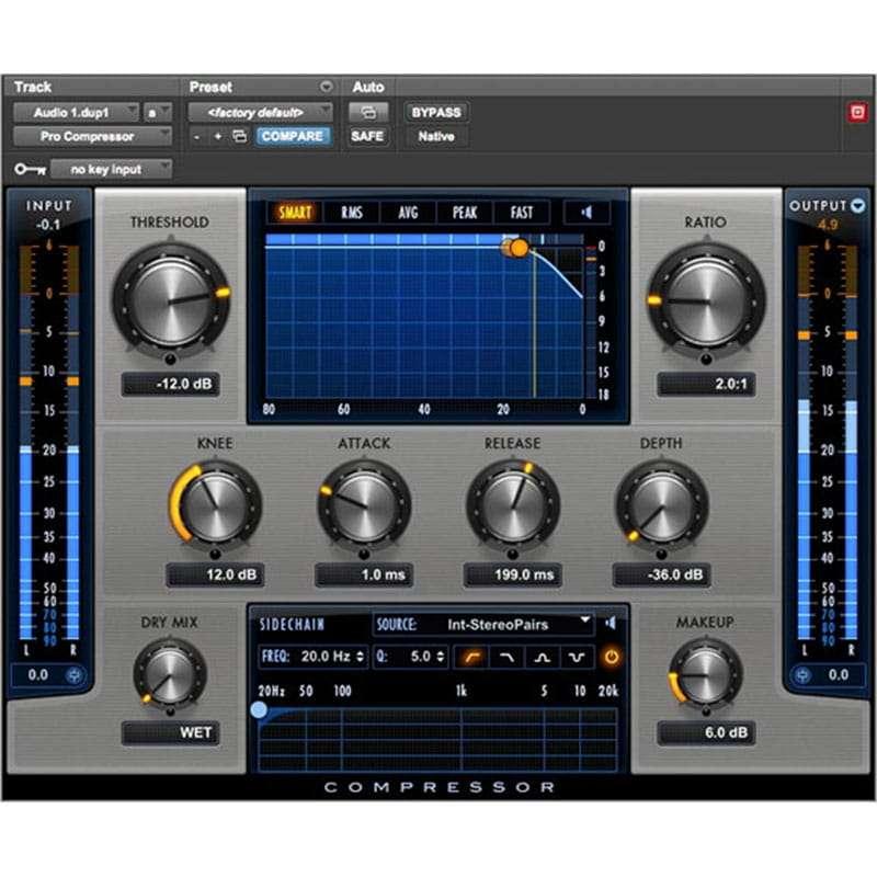 Pro Compressor InsetPlugin AVID Audio Plug in Activation Card Tier 1