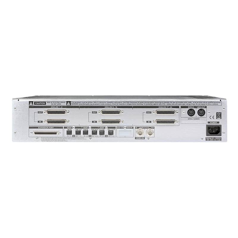 SSL Alpha Link AX rear Convertitori Audio, Pro Audio, Audio Digitale