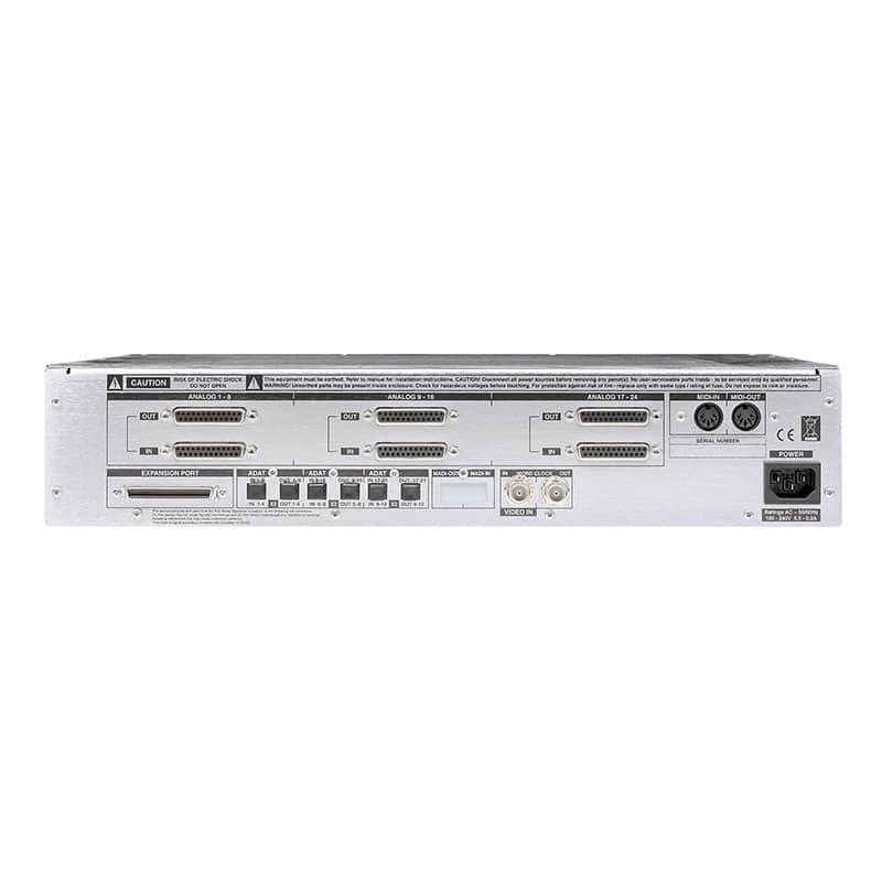 SSL Alpha Link AX rear Solid State Logic Alpha Link MADI AX