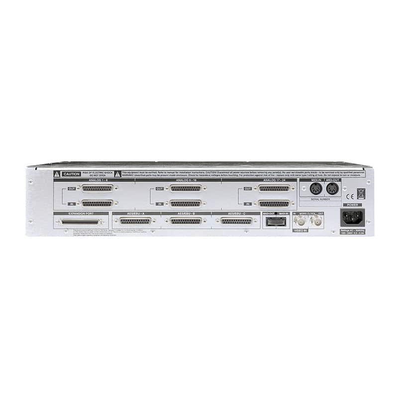 SSL Alpha Link SX rear Solid State Logic Alpha Link MADI SX