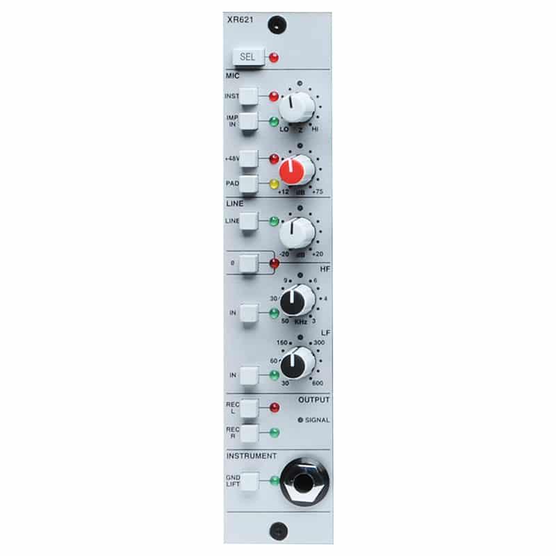 SSL X Rack Mic Pre Module Strumentazioni Pro Audio per studi di registrazione, Outboard professionale analogico, Preamplificatori microfonici in formato Rack e Serie 500