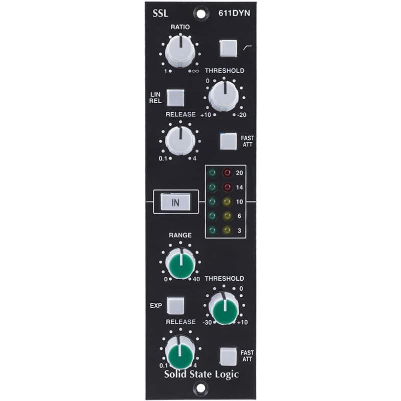 Solid State Logic 611DYN Strumentazioni Pro Audio per studi di registrazione, Outboard professionale analogico, Compressori analogici per il tuo studio di registrazione