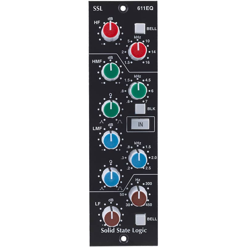 Solid State Logic 611EQ Pro Audio, Outboard, Equalizzatori