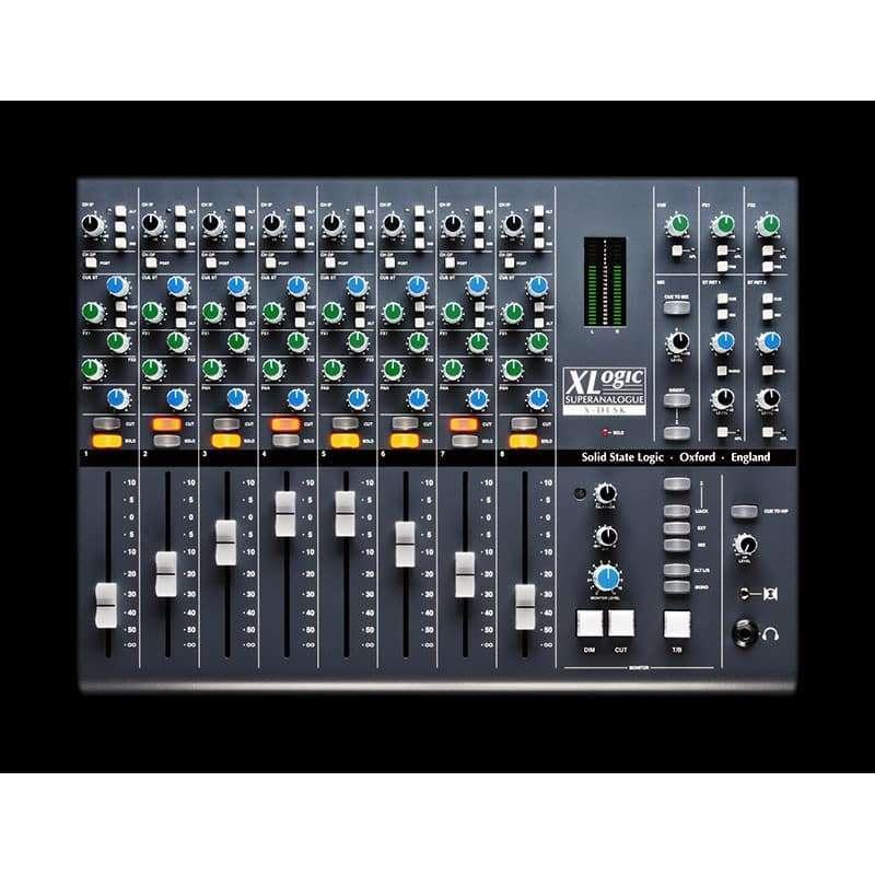 Solid State Logic X Desk 4 Outboard professionale analogico, Sommatori e Mixer professionali, Strumentazioni Pro Audio per studi di registrazione