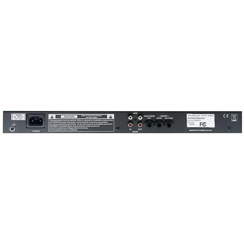 Solid State Logic XLogic Alpha Channel 2 Pro Audio, Outboard, Preamplificatori Microfonici