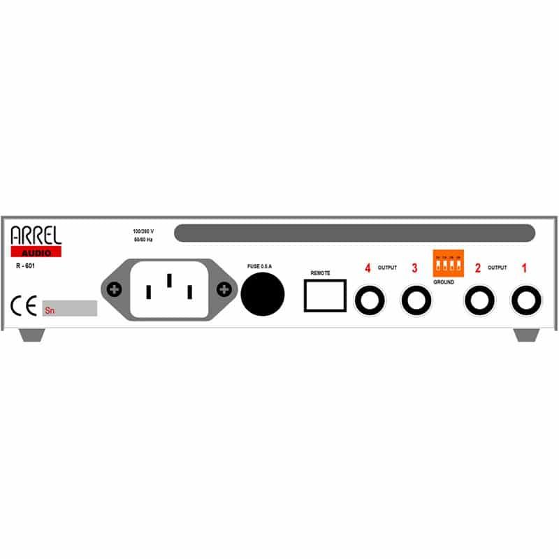 arrel audio R 601 4 Arrel Audio R 601