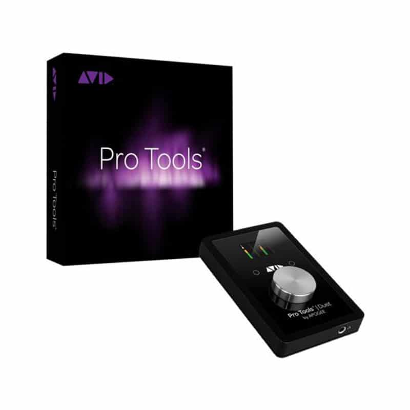 AVID Pro Tools | DUET Pro Audio, Software, DAW, Audio Digitale, Schede Audio per PC e MAC avid protools duetprotools12 1