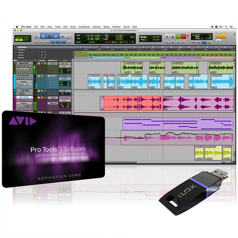 avid pro tools with upgrade support ilok Pro Audio, Software, DAW