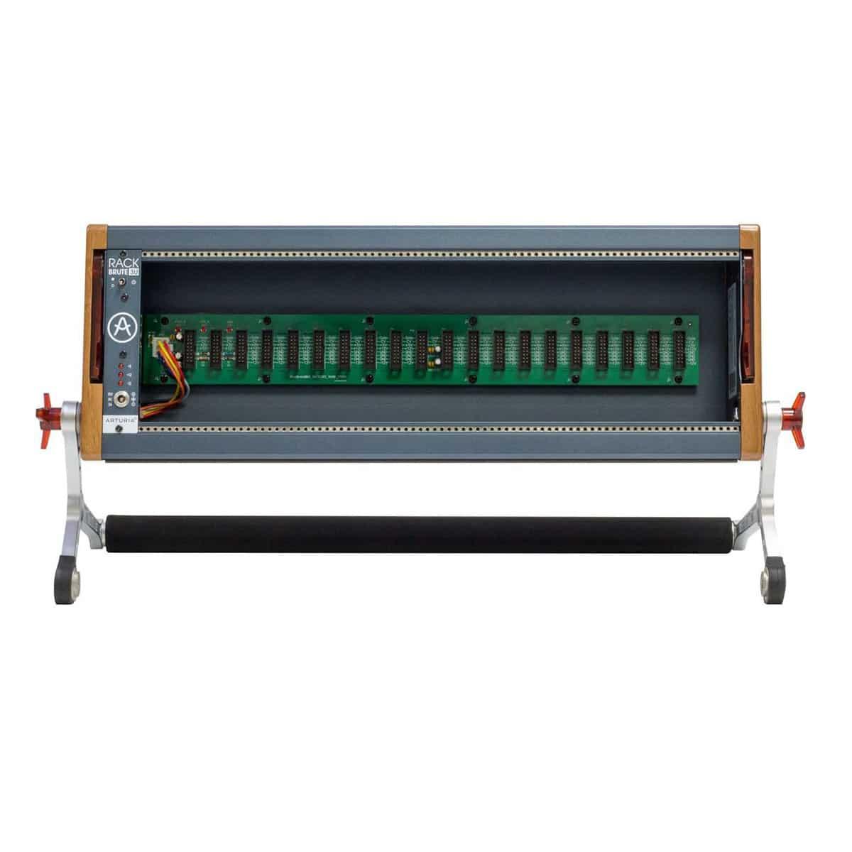 Arturia Rackbrute 3U 01 Sintetizzatori e Drum Machine, Case Eurorack